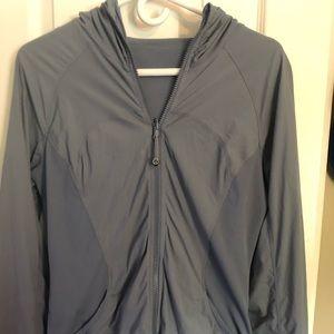 Lululemon Blue/grey wash reversible jacket